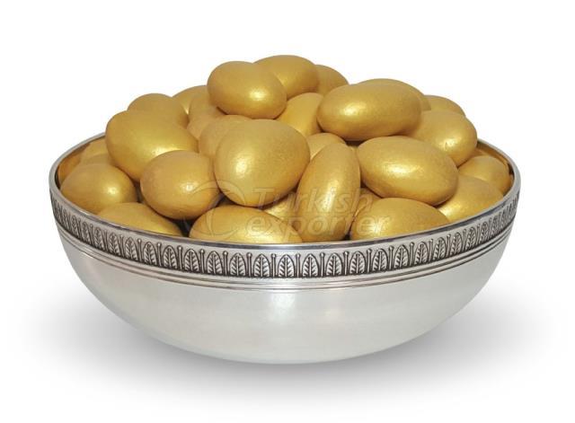 Amêndoa de Chocolate Dragee Gold 1301