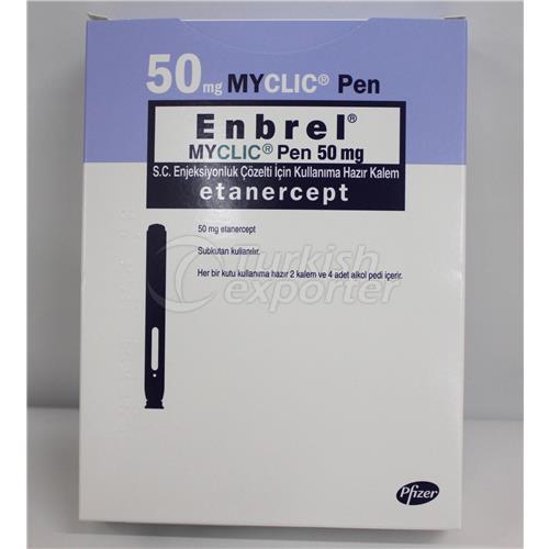ENBREL MYCLICK 50 MG READY TO USE -