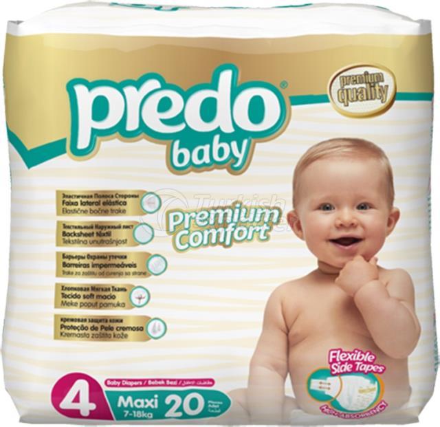 Couches bébé Predo Economic Maxi