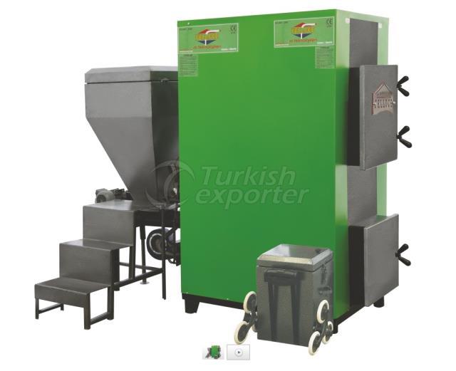 Central Prismatic Stoker Ash Unloader Heating Boiler