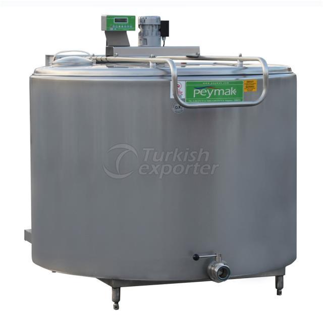 Réservoir de refroidissement de lait vertical PHS