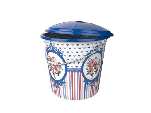 Desenli Çöp Kovası