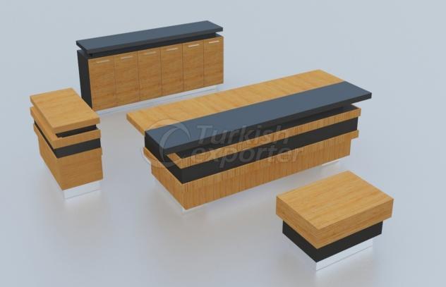 Pirâmide para móveis de escritório