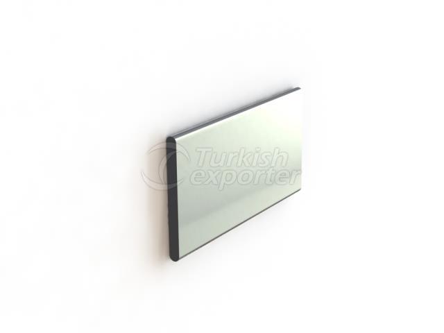 Plate with Radius and Square Box Profiles