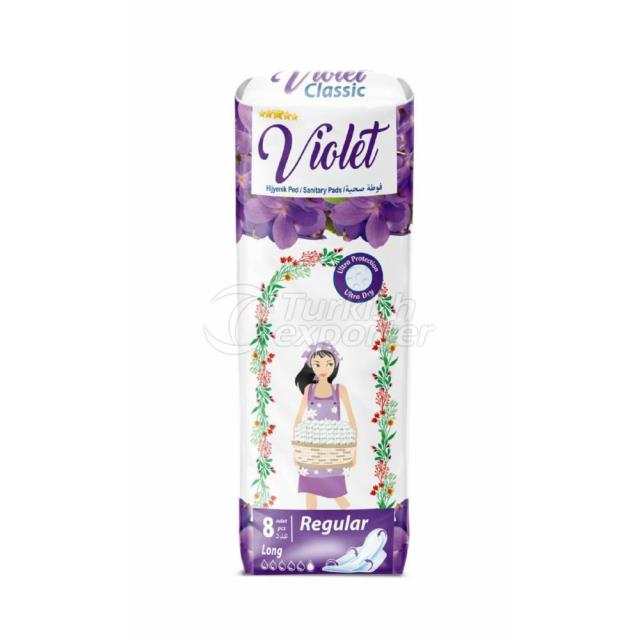 Almohadillas Sanitarias Violeta