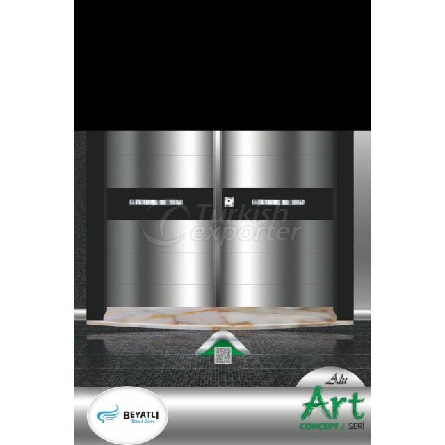 Steel Door - ALU 104