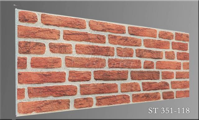 Wall Panel Strotex Brick 351-118