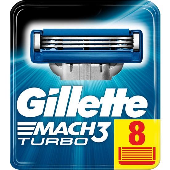 gillette mach3 turbo -count 8