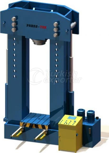 LAP420 - 20115 Hydraulic workshop press wit high working capacity