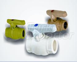 Válvulas de plástico y conexión de conjunto combinado