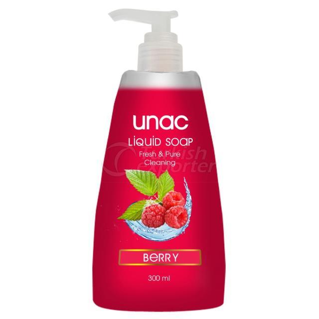 Un5024 - Unac Liquid Soap Cherry 300ml