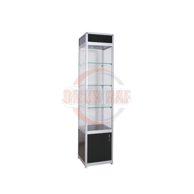 Aluminum Display Cabinet