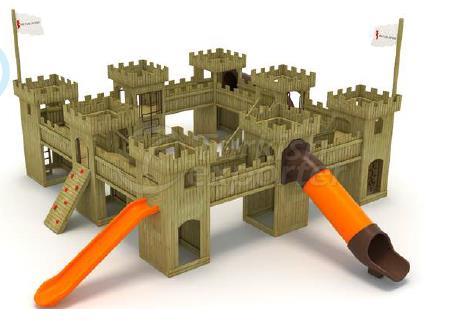 العاب اطفال خشب شكل القلعة