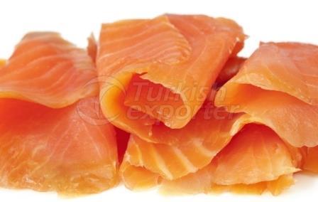 Poisson de saumon en conserve