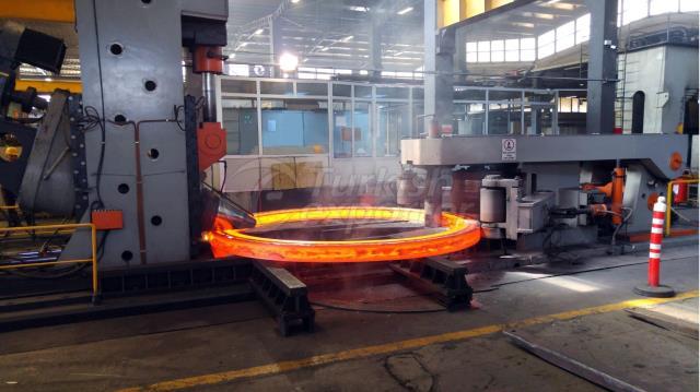 carbon steel flange-rolling