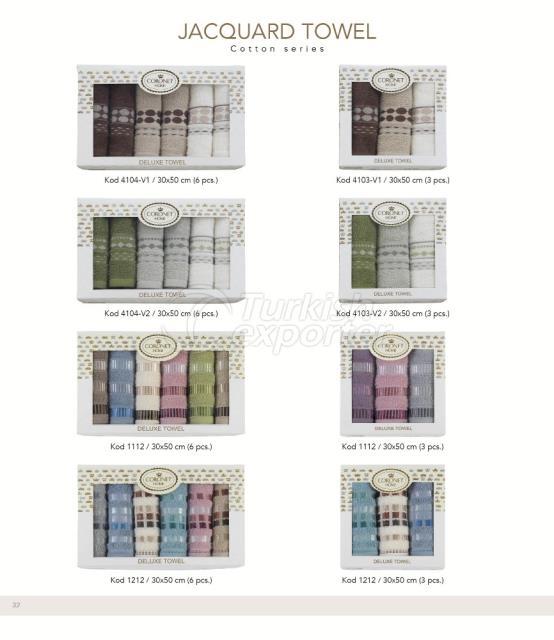 Jacquard Towels Coronet