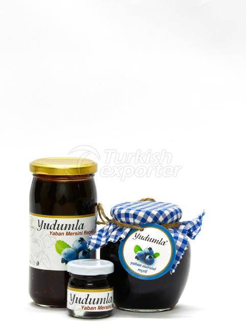 Natural Bluberrie Jam
