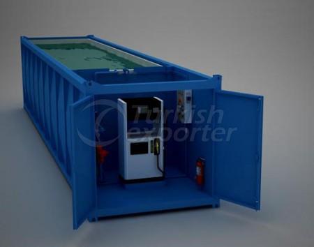 Station de conteneur mobile Fuel Oil