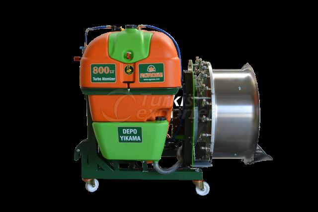 Mounted Turbo Atomizer 800 lt 90 Cm