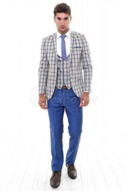 WSS Wessi Plaid Suit
