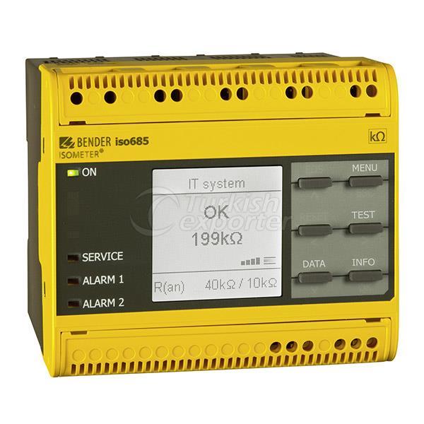 أجهزة مراقبة العزل بندر