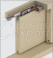 Adjustable Sliding Door System M03 7600 PK