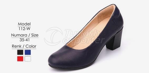 Zapatos de la azafata 112-W