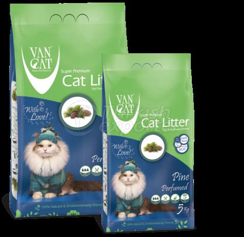 Cat Litter -Pine Perfumed