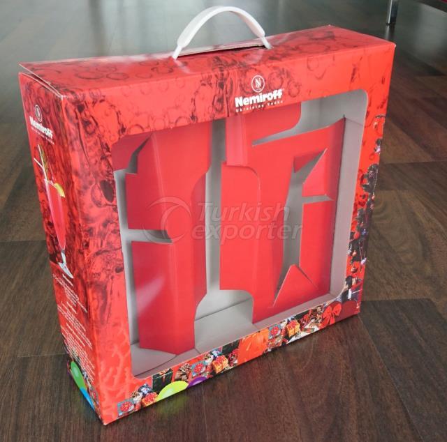 Cardboard Handle box