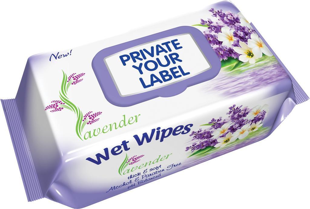 Wet Wipes - Lavander