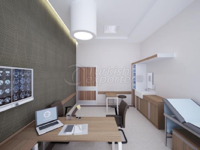 Hospital Concept-Doctor Room Furnitures