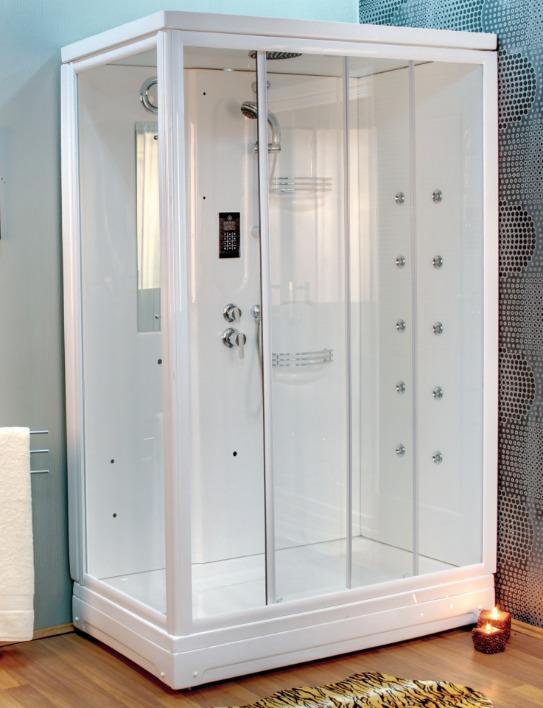 Compact Shower Enclosure Rectangular