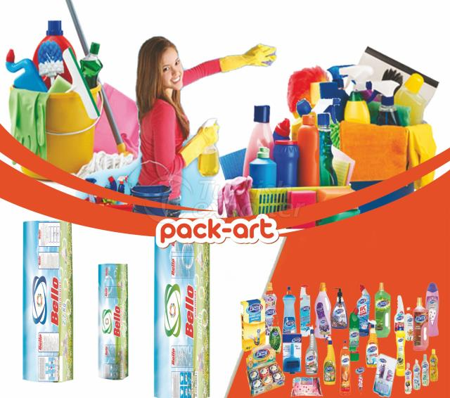 CLEANING PRODUCTS PACKAGING