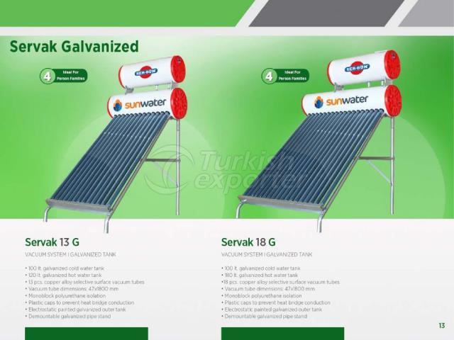 Energia Solar Servak 13G - 18G