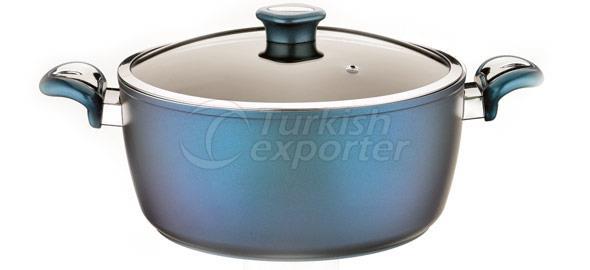Mirror Blue Cookware