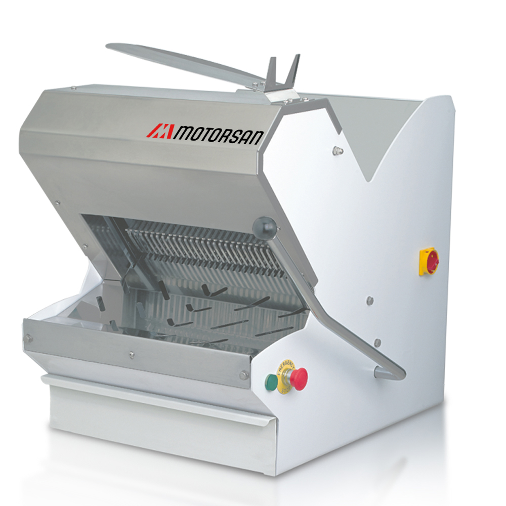 TABLE TOP BREAD SLICING MACHINE