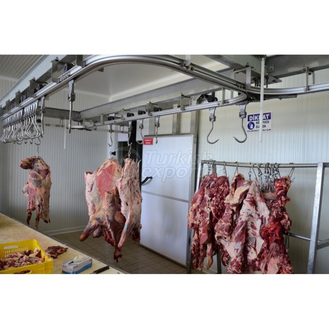 Instalações de processamento e embalagem de frango de carne