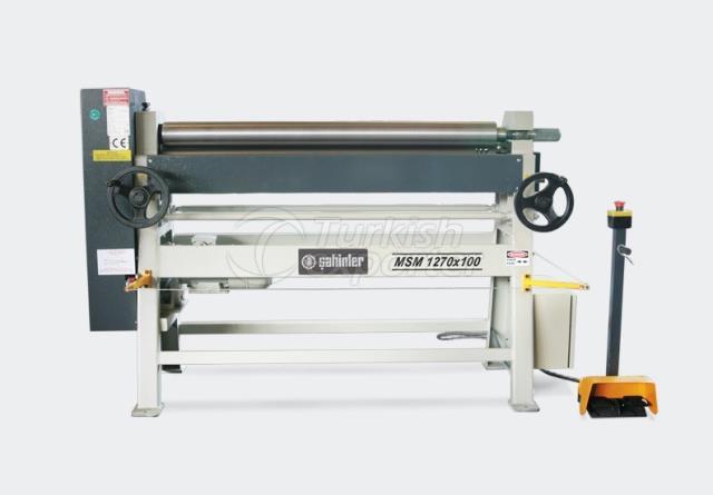 Motorised Assymetrical Heavy Duty 3 Rolls Plate Bending Machines - MSM