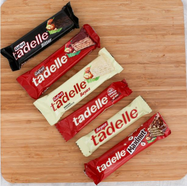 TADELLE CHOCOLATES AND WAFERS