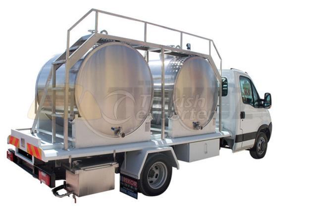 Milk Transportation Truck With Tank