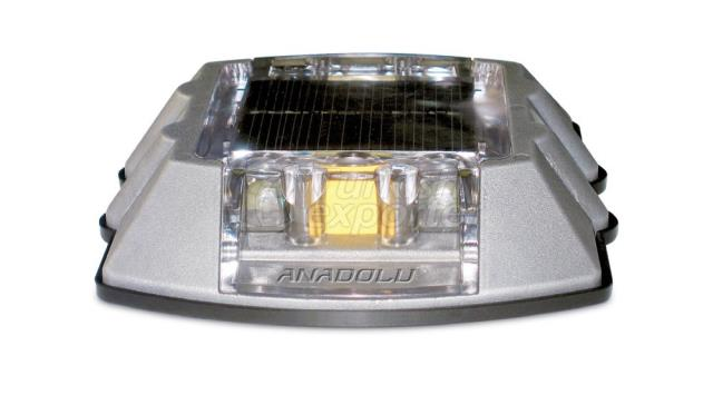 Solar Energy Road Button