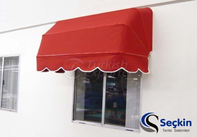 Bellows Awning Systems