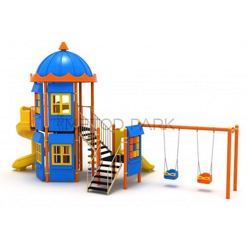 131 M House Themed Playground