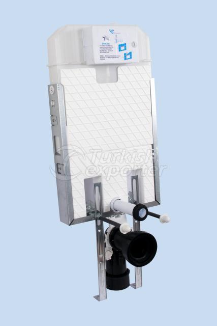 Slim80Dual Flush Concealed Cistern