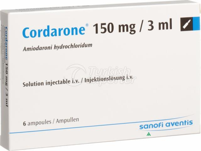 CORDARONE 150 MG 6 AMPOULS