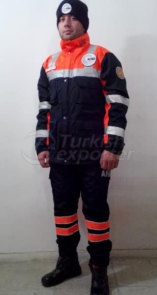 Disaster Emergency Civil Defense Clothing