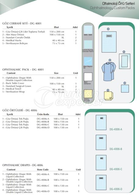 Ophthalmology Custom Packs