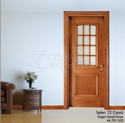 Élingue de porte en bois 12-verre