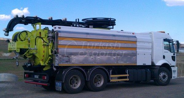Caminhão de limpeza de esgoto CS Series