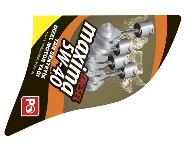 Engine Oil Label